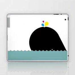 CMYK Whale Laptop & iPad Skin