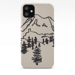 rainier iPhone Case