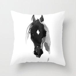 Horse (Star) Throw Pillow
