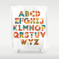 philippines Shower Curtains featuring The Alflaget by Waynem