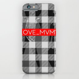Plaid Play iPhone Case
