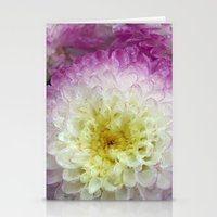 dahlia Stationery Cards featuring dahlia by blackpool