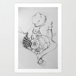 time victim Art Print