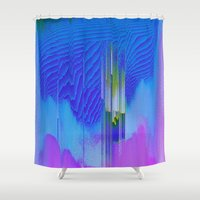 waterfall Shower Curtains featuring Waterfall by DuckyB