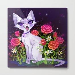 Siamese Lilac Metal Print