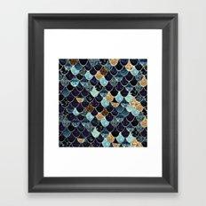 REALLY MERMAID - MYSTIC BLUE Framed Art Print