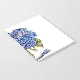 Cape Cod Hydrangea Large Canvas Notebook