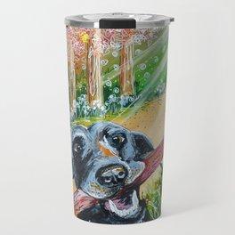 Monty the Dog Travel Mug