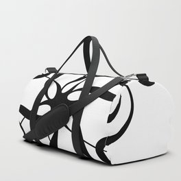 Treble Clef Hexaflower Duffle Bag