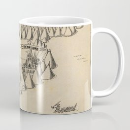 STORM SIREN Map (bk 1) Coffee Mug