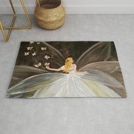 Golden Butterfly Fairy Rug