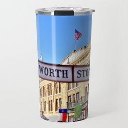 Fort Worth Stock Yards Travel Mug