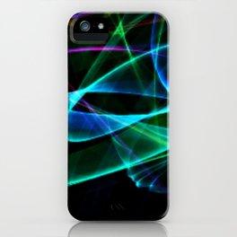 Blue Smoke iPhone Case