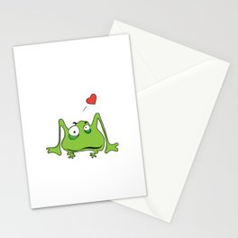 Frog Legs Stationery Cards