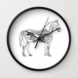 Horse (Inside) Wall Clock