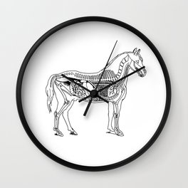 Horse (Inside) Wall Clock