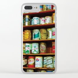 99 Cans of Beer on the Wall Clear iPhone Case