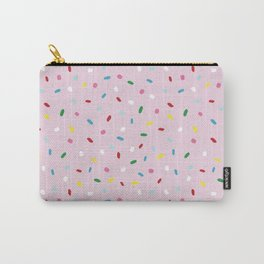 Sweet glazed, with colorful sprinkles on pink melting icing Carry-All Pouch