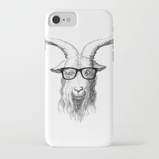Hipster Goat Slim Case iPhone 7