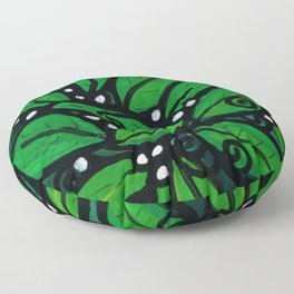 Flourishing Plant Floor Pillow