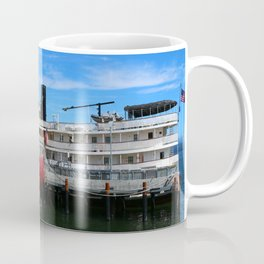 Riverboat Legacy and Fireship Columbia on Columbia River Coffee Mug
