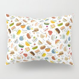 Soups of the World Pillow Sham