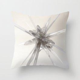 Glass Star Throw Pillow
