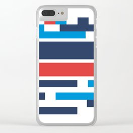 Colorblock Clear iPhone Case