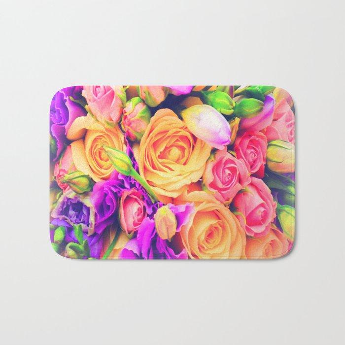 Roses 1 Bath Mat