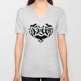 Batty Love Unisex V-Neck