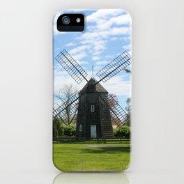 East Hampton Windmill iPhone Case
