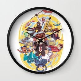 Fly with your dreams Wall Clock