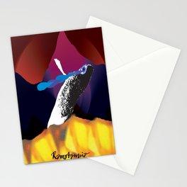 Pleure poisson Stationery Cards