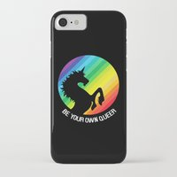 queer iPhone & iPod Cases featuring Be Your Own Queer by Berberism Lifestyle