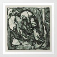 Spirit Mangle (Nigel Wright) Art Print
