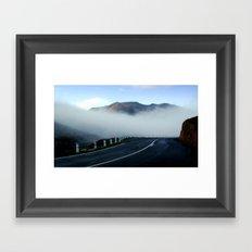 Highway to Heaven Framed Art Print