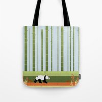 bamboo Tote Bags featuring Bamboo by Kakel