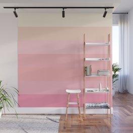 Soft Stripes Wall Mural