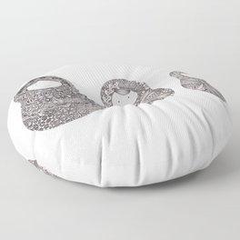 Three Floor Pillow