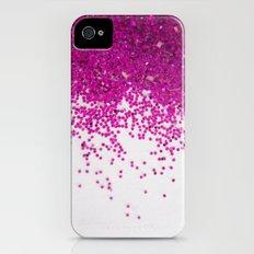 Fun I (NOT REAL GLITTER) iPhone (4, 4s) Slim Case