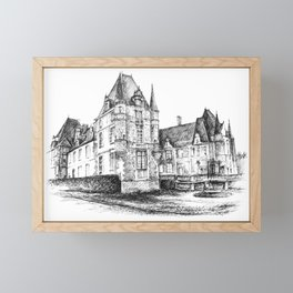 Country Lodge Framed Mini Art Print