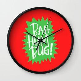 BAH HUM BUG! Wall Clock