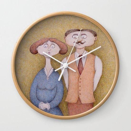 Cecilia & Herbert Wall Clock