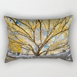 Gorgeous Big Tree Rectangular Pillow