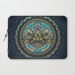 Lotus Mandala - Color Version Laptop Sleeve