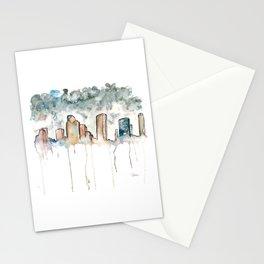 Houston Rain Stationery Cards