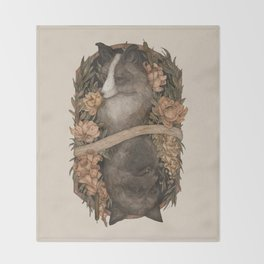 Friend Fox, Foe Fox Throw Blanket