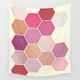 Shades of Pink Wall Tapestry