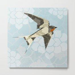Swallow Metal Print