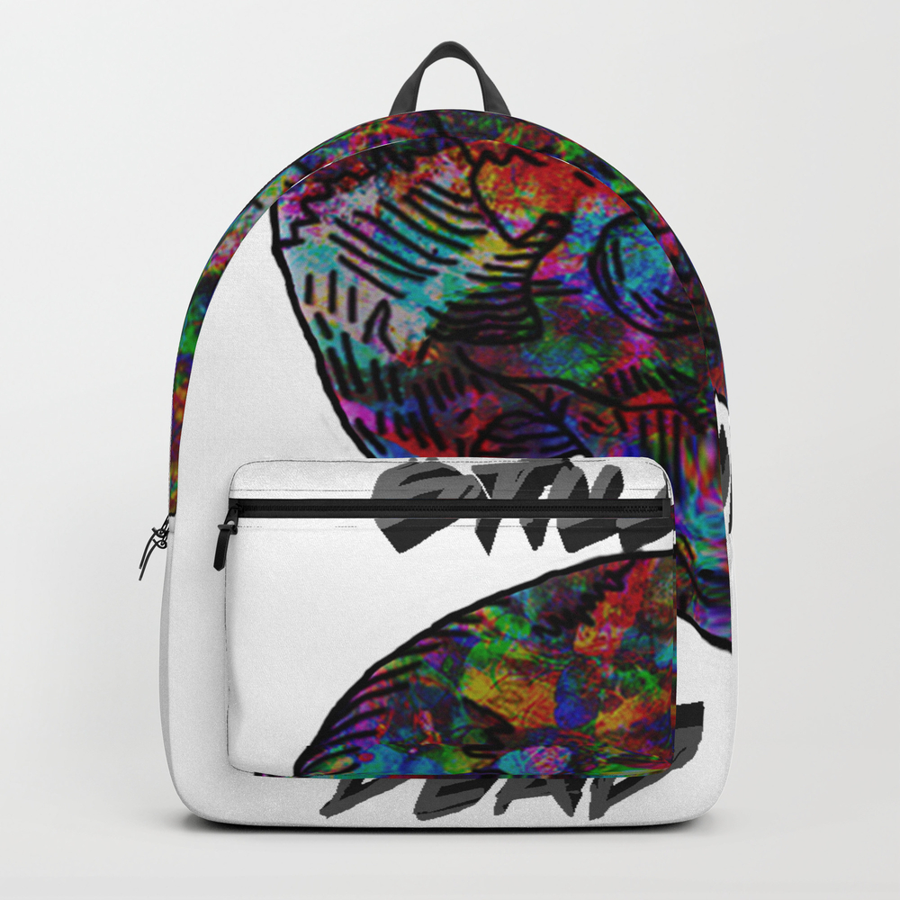 Still Alive, Dead Inside Backpack by Natureprincess BKP7969931